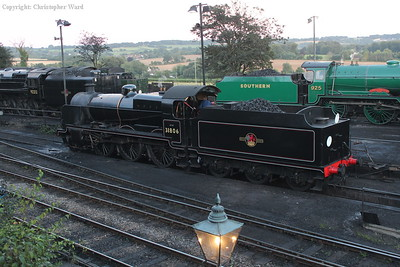 31806 moves over the pit