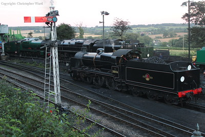 31806 drops back to the coaling stage
