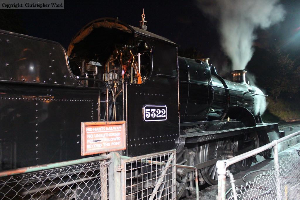 5322 emits steam