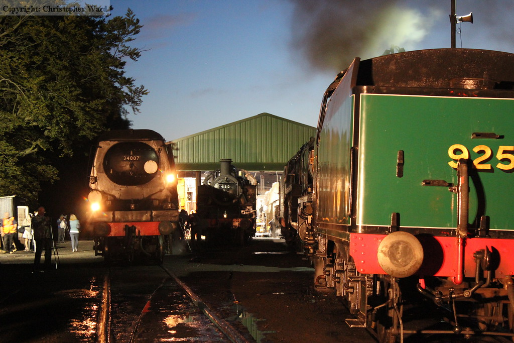 34007 with the Ivatt tank and the NRMs Schools