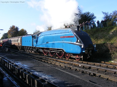 Dominion of New Zealand gets away from Ropley