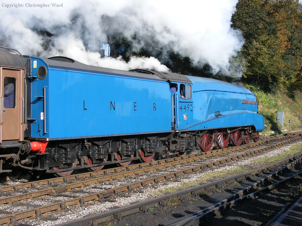 4492 gets away with the Real Ale Train