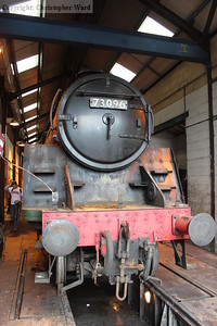 73096 in the wheel-drop shed
