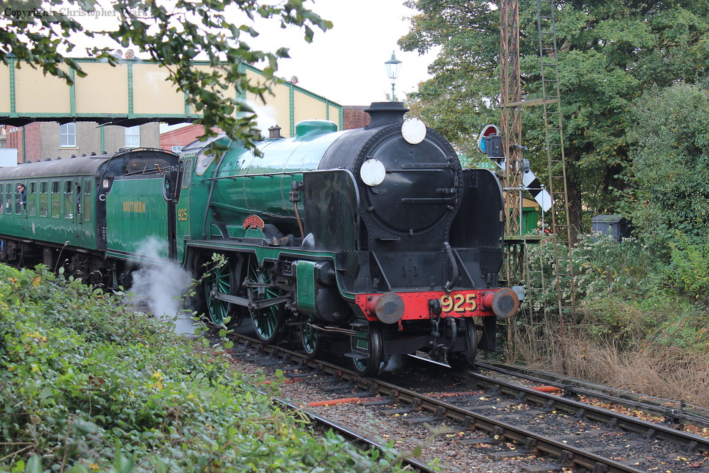 """The aptly named """"country"""" end of Ropley station"""