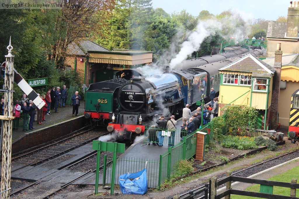 Tornado gets the signal to depart