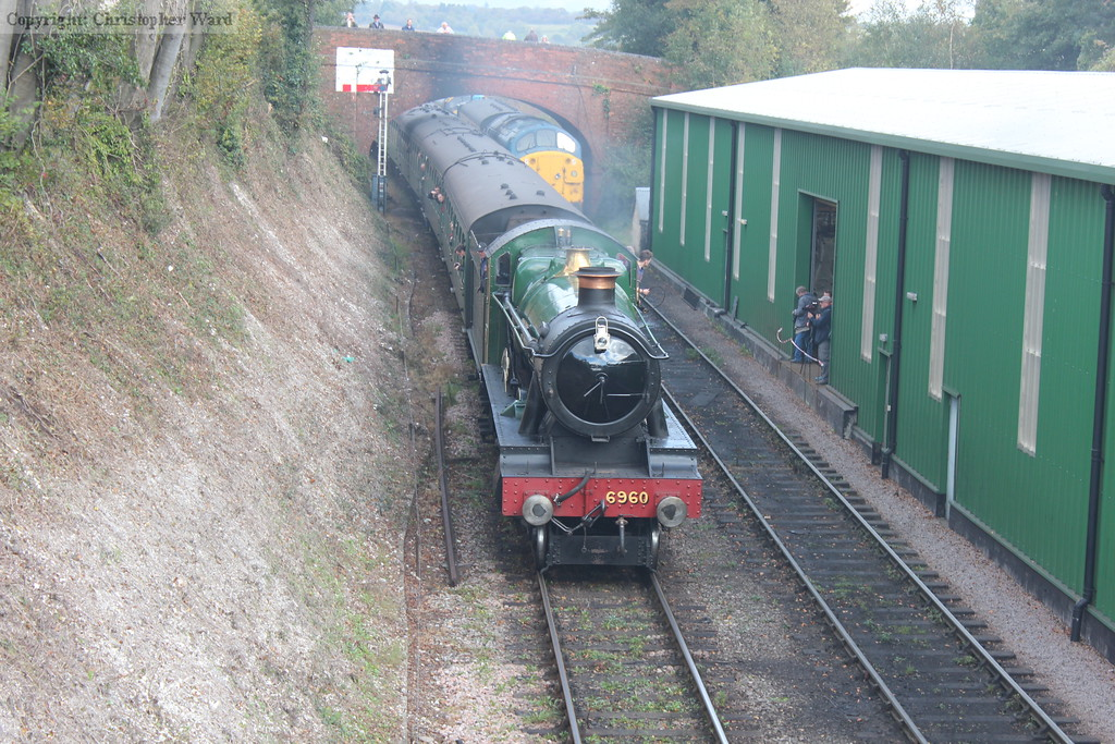6960 approaches with a down train