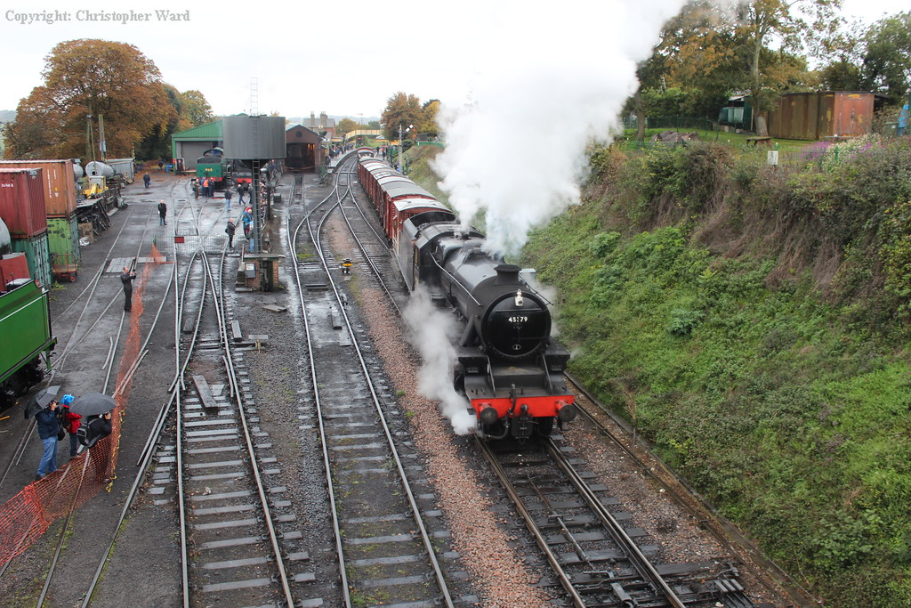 45379 makes a steady getaway with the goods