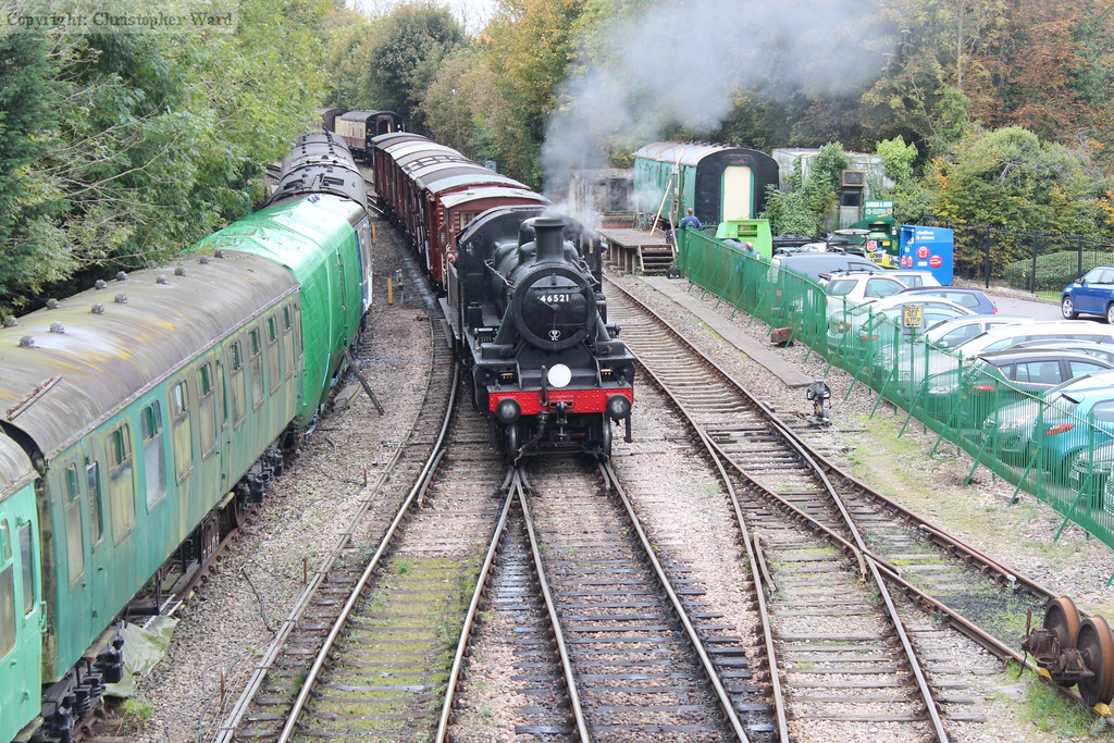 The Ivatt splits off the vans