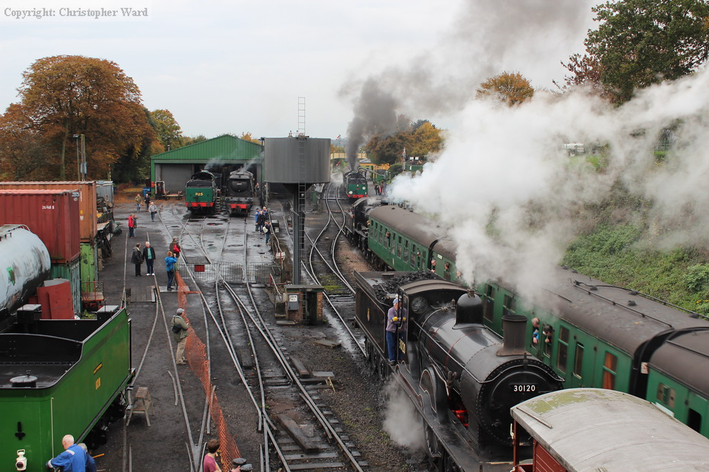 The Ivatt muscles in on the Southern Railway gathering