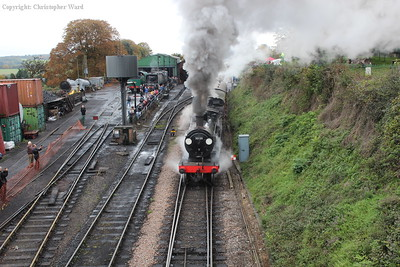 An energetic display from the LSWR veteran as she prepares to take on the Alps