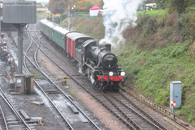 The local heads for Medstead behind the Ivatt 2MT