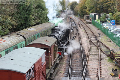 46521 engages in the shunting of the goods