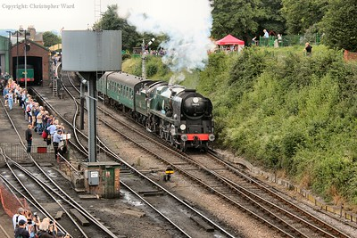 Sir Keith Park gets away from Ropley