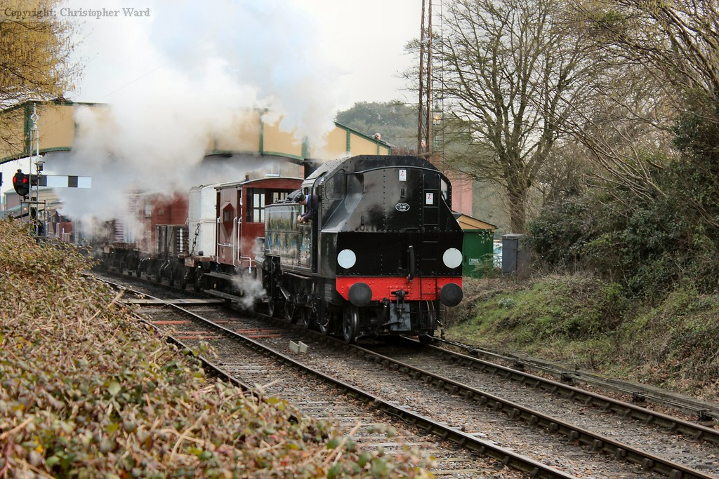 The Ivatt tank gets away with the goods