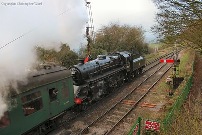 The Standard 4 makes a gusty departure for Alresford