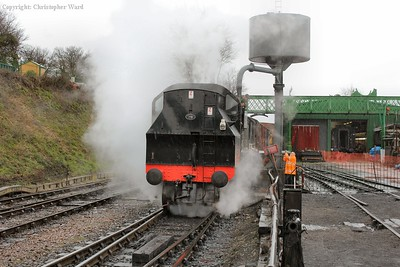 The Ivatt takes water