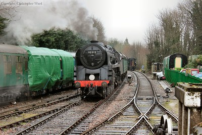 The 9F shunting stock