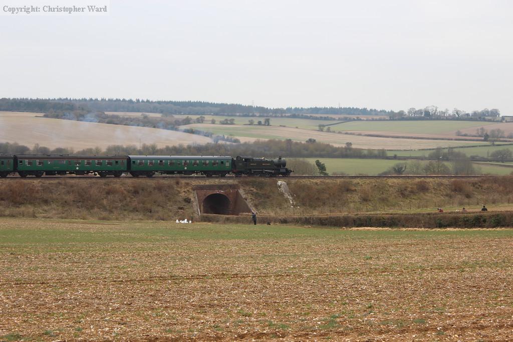 5164 runs over the bridge