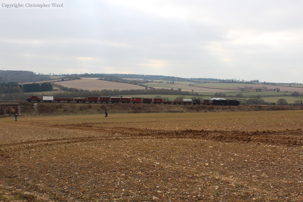 The entirety of the goods train, a credit to all involved