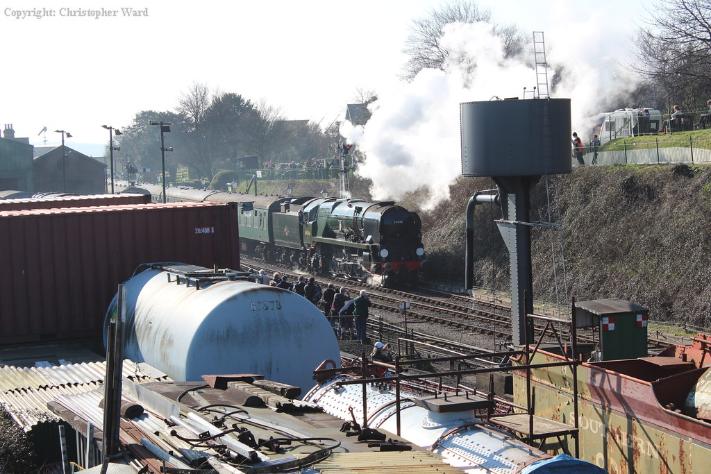 Braunton glimpsed across the yard
