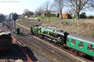 Braunton in charge of the next down train