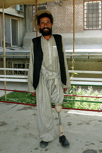 Afghanistan (Panetta)  ICRC, Kabul (Afghan Red Crescent).   The vast majority of the staff and patients are amputees, some double amputees. As we walked through the facility we passed by several patients who, one by one they would, almost methodically, lift their pant leg to show their prosthetic, or they would remove their prosthetic to show reveal their limb. And although this was generally followed by a handshake or an arm-shake for those without hands, it was always followed by what I perceived to be a look of gratitude. And although there was little we had to offer, the gift we were able to give was our presence; it was simply the gift of our time, and our ability to look into their eyes and affirm their courage.
