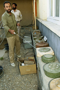 Afghanistan is a country littered with landmines and other antipersonnel devices.