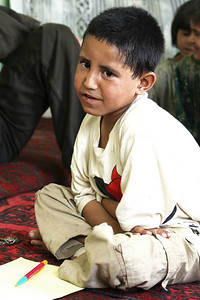 Nasrullah describes the pain comparable to loud bells ringing in his head. This is in part due in part because of the piercing sound of the explosion, as well as the shrapnel that lodging in his head, but one glance in the eyes of this inspiring little boy and the psychological afflictions are clearly dramatized.