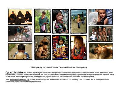 """Children of Palestine"" - Back printing of card Palestine, 2006 (Panetta)"