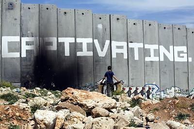 Palestine / Israel (Panetta)  Aida refugee camp, Bethlehem
