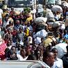 Boarding the ferry, Mombasa