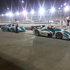 Taking a break from meetings to drive modified F1 cars on the Abu Dhabi F1 track.