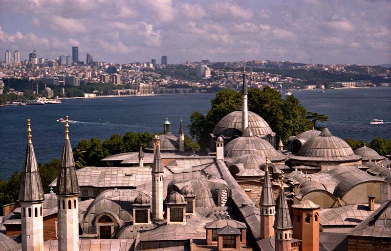 View over Topkapi, Istanbul