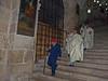 Coptic procession, Church of the Holy Sepulchre, Jerusalem