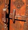 Door detail, Bait Sheikh Isa Bin Ali, Muharraq, Bahrain