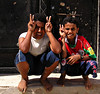 Kids, Mirbat, Oman