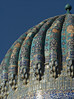 Dome, Sher Dor Madrasah, Samarkand
