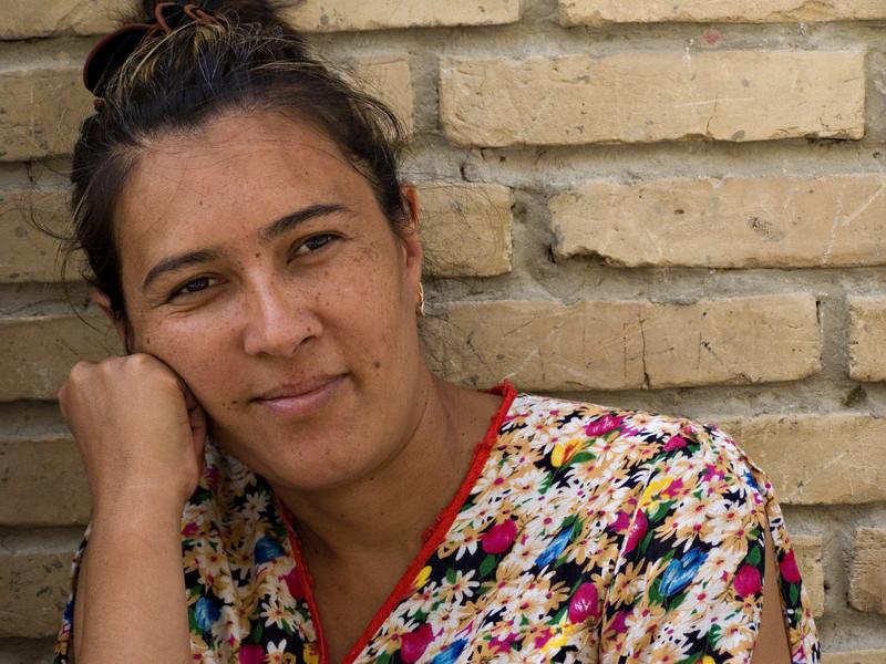 Woman, Bukhara, Uzbekistan