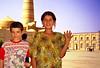 Girls, Khiva, Uzbekistan