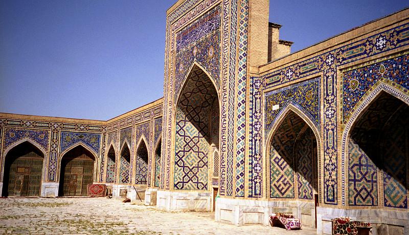 Tillya Kari madrasah, Samarkand, Uzbekistan