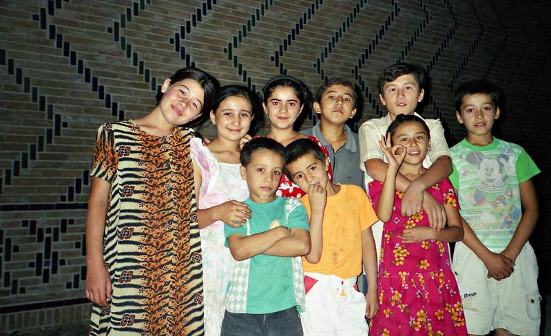 Kids, Samarkand, Uzbekistan