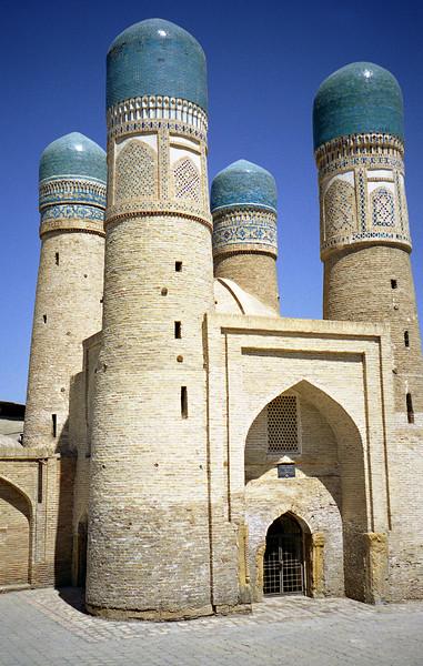 Chor Minar, Bukhara, Uzbekistan
