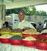 Market vendor, Samarkand, Uzbekistan