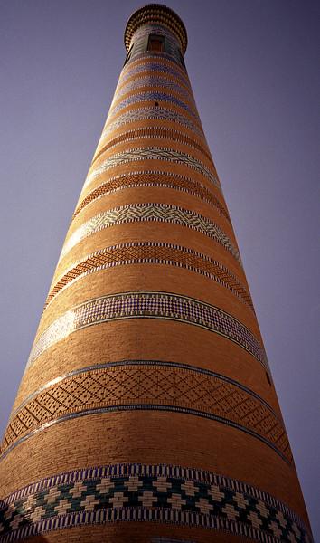 Islam Khoja minaret, Khiva, Uzbekistan