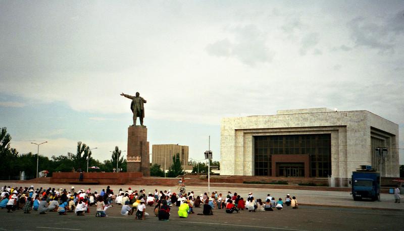Students, Bishkek, Kyrgyzstan