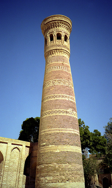 Small minaret, Bukhara, Uzbekistan