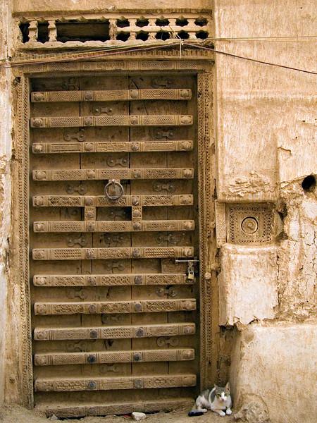 Door, Shibam