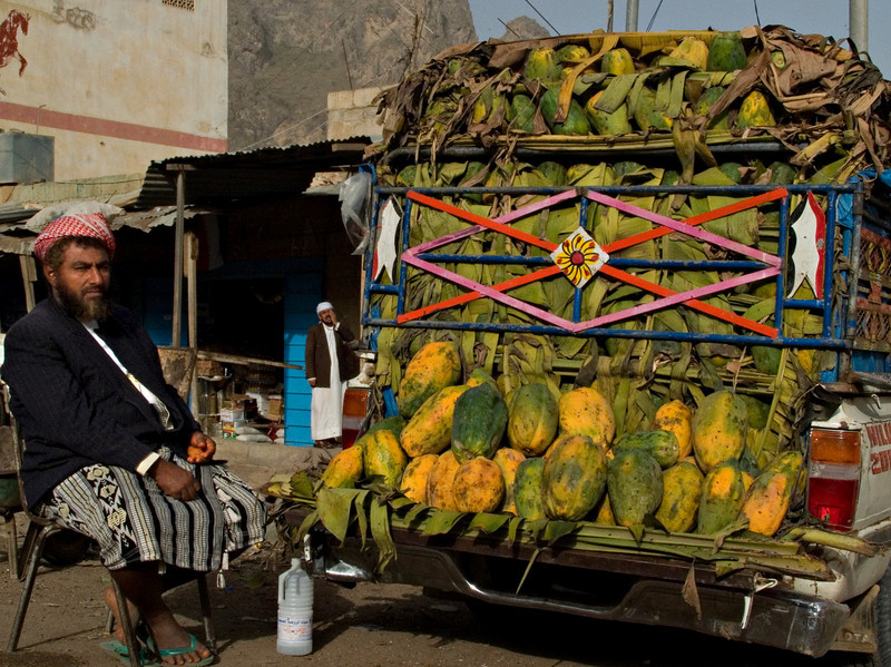 Fruit seller, Manakhah