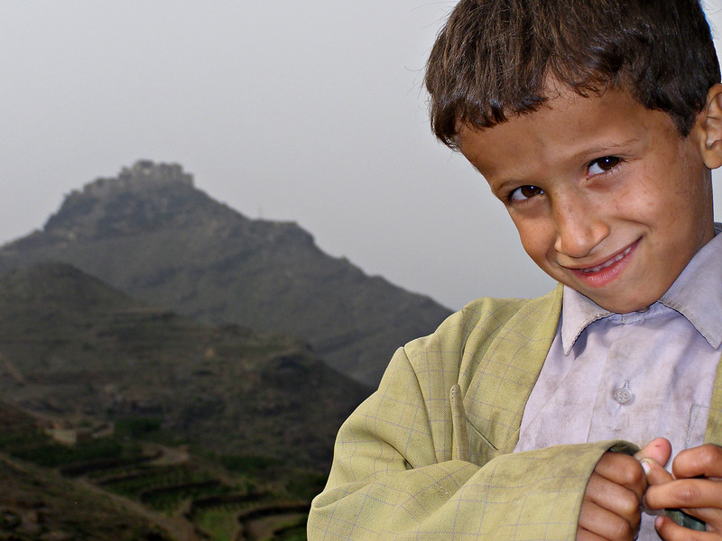 Boy, Maghrabat Manakhah, Haraz mountains