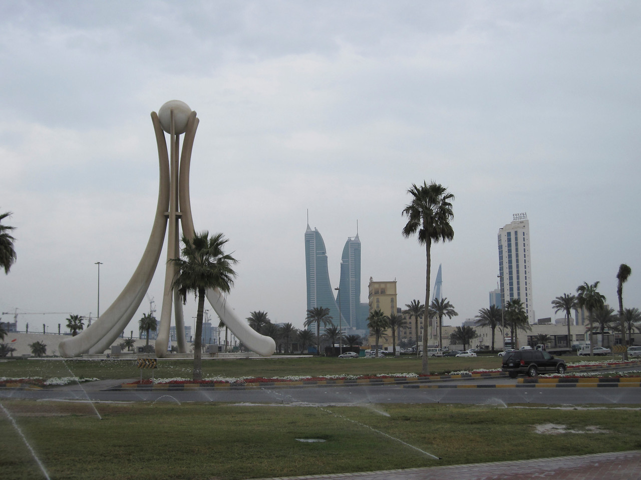 Pearl Roundabout in Manama, Bahrain